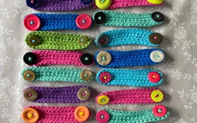 Crocheting her way to better mental health