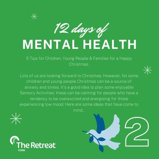 ON THE 2ND DAY OF MENTAL HEALTH