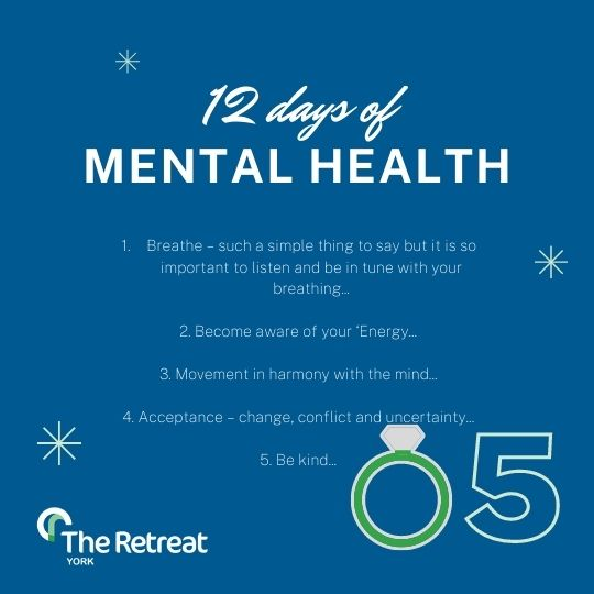 ON THE 5th DAY OF MENTAL HEALTH