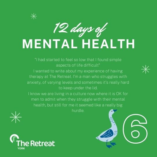 ON THE 6th DAY OF MENTAL HEALTH