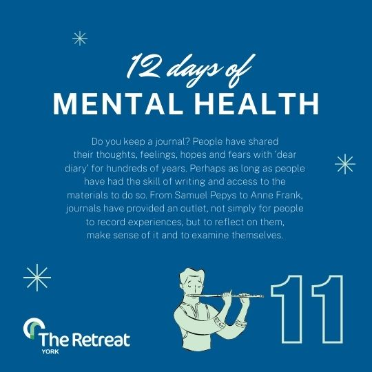 ON THE 11TH DAY OF MENTAL HEALTH