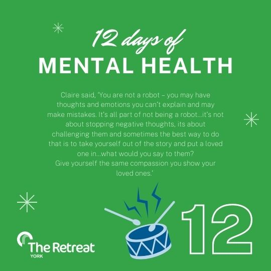 ON THE 12TH DAY MENTAL HEALTH