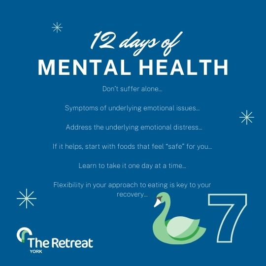 ON THE 7th DAY OF MENTAL HEATLH
