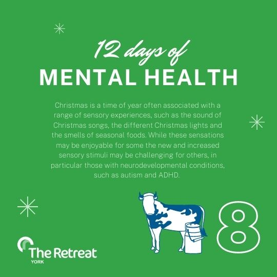 ON THE 8th DAY OF MENTAL HEALTH