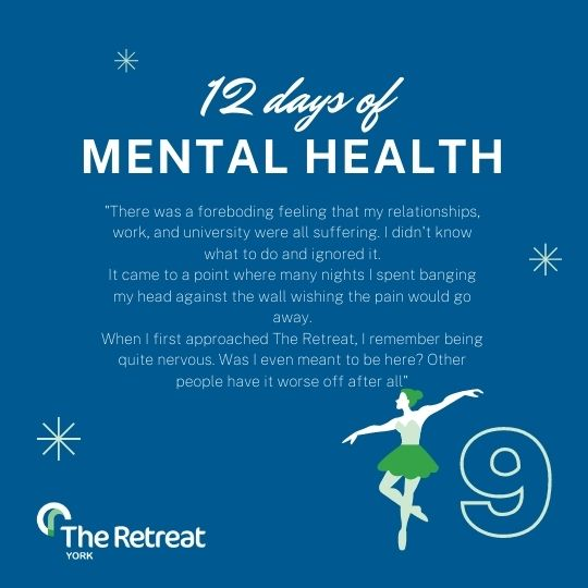 ON THE 9th DAY OF MENTAL HEALTH
